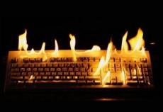 горящие клавиши